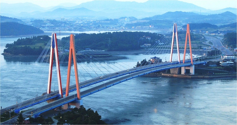 World's Largest Wireless Smart Sensor Network for SHM in Jindo, Korea